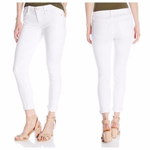 Joe's Jeans Icon Skinny Crop White Mid Rise 27